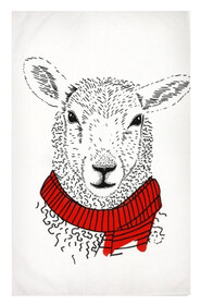 Tea Towel - Pen Pals Sheep