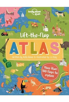 Lonely Plant Kids - Lift The Flap Atlas