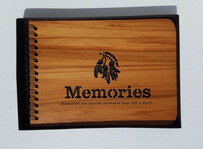 NZ Made Wooden Photo Album / Memories