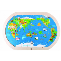 Hape - Around the World Puzzle