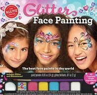 Glitter Face Painting - Klutz