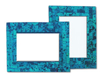 Mosaic Photo Frame / Turquoise