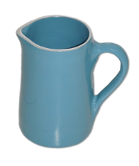 Aluminium Milk Jug (small) - Blue