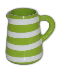 Aluminium Jug Medium / Lime Green & White