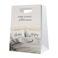Pillow Case - Hubby & Wifey