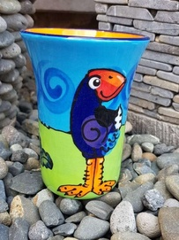 NZ Made Handpainted - Theme Mug - Pukeko