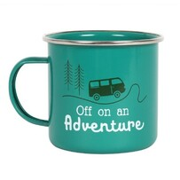 Off on an Adventure - Enamel Mug