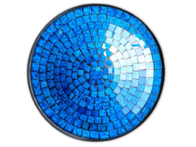 Mosaic Bowl / New Blue 30cm