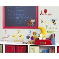 RoomMates Peel and Stick Wall Decals / Numbers and Alphabet