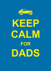 Gift Book / Keep Calm For Dads