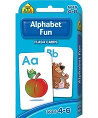 School Zone Flash Cards - Alphabet Fun