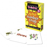 My First Card Game - Number Snap