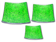 Mosaic Plate - Lime