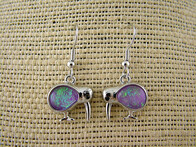 Earrings - Lavender Kiwi Earrings