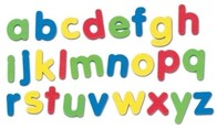 Magnet Letters - Lower Case