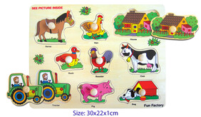 Wooden Puzzle / Farmyard