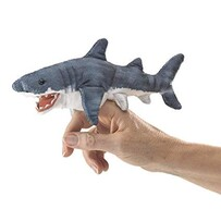 Folkmanis Finger Puppet / Shark (mini)