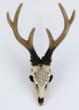 Carved Stag Head