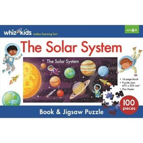 Whiz Kids Book & Jigsaw Puzzle - The Solar System