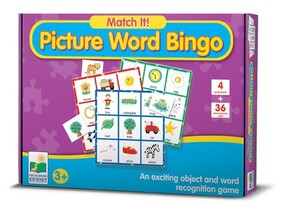Match It - Picture Word Bingo