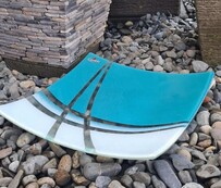 Cre8tive Glass - Life Series - Teal - Platter