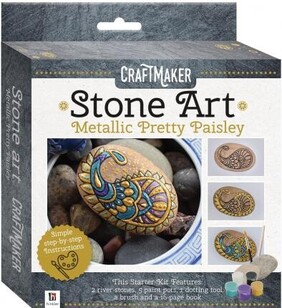 Stone Art - Metallic Pretty Paisley