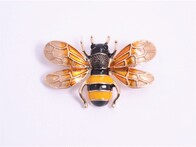 Brooch - Golden Bee