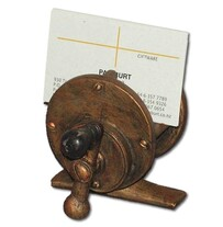 Fishing Reel Business Card Holder
