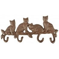 Four Cats Coat Hook