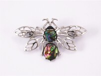 Brooch - Paua Bee