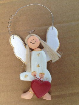 Christmas Wooden Sexy Angel