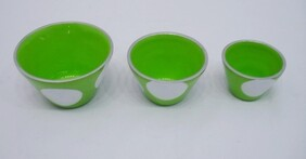 Aluminium Condiment Bowl / Large / Green