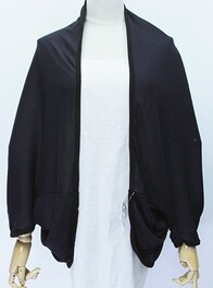 Cape - Navy Long Sleeve
