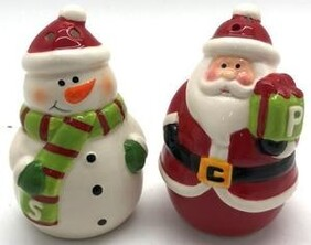 Salt & Pepper - Santa & Snowman