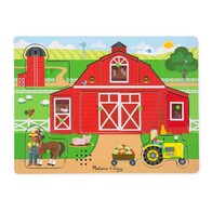 Melissa & Doug - Around the Farm Wooden Sound Puzzle