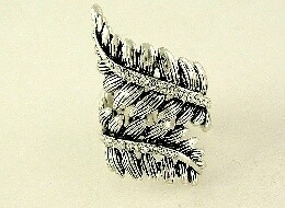 Ring - Ox-Silver Fern Wrap Ring