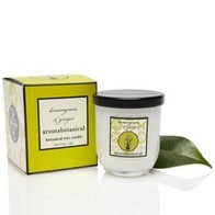 Aromabotanical Soy Wax Candle 140grams / Lemongrass and Ginger