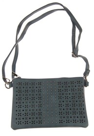 Handbag - Daisy Diamond Cutout