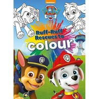 Paw Patrol - Ruff-Ruff Rescues To Colour