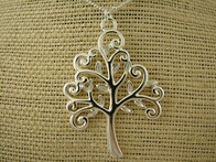 Necklace - Koru Tree Necklace
