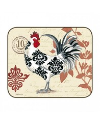 Jason Serving Mats - Set of 2 Damask Rooster