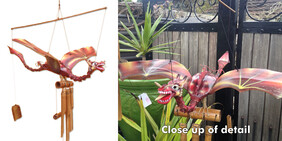 Wind Chime - Dragon (airbrushed)