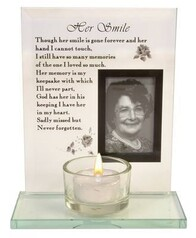 16cm Her Smile Tealight Holder