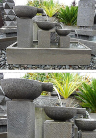 Serenity Falls Water Feature 120cm wide x 83cm