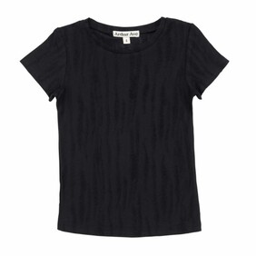 Arthur Avenue - Raw Black T