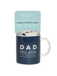 Dad Mug and Sock Set - Awesome