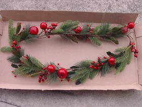 Berry Apple Garland