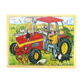Bigjigs - Tractor Puzzle