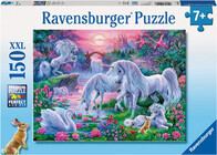 Ravensburger Puzzle - Unicorns at Sunset