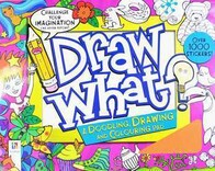 Draw What? A doodling book / Pink